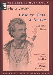 Cover of: How to tell a story, and other essays