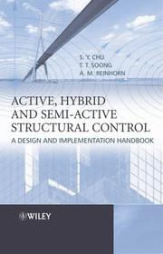 Active, Hybrid, and Semi-Active Structural Control: A Design and Implementation Handbook