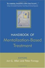 Cover of: Handbook of mentalization-based treatment