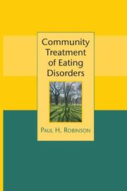Cover of: Community Treatment of Eating Disorders