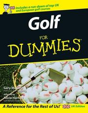 Cover of: Golf for Dummies (For Dummies) | Gary McCord