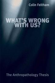 Cover of: What's Wrong with Us
