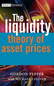 Cover of: The liquidity theory of financial markets