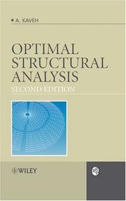 Cover of: Optimal Structural Analysis (RSP) | Ali Kaveh