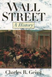 Cover of: Wall Street