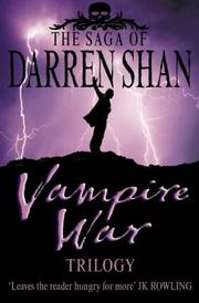 Cover of: The Vampire War Trilogy