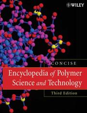 Cover of: Encyclopedia of Polymer Science and Technology, Concise | Herman F. Mark