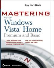 Cover of: Mastering Microsoft Windows Vista Home: Premium and Basic (Mastering)