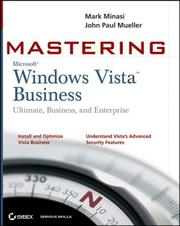 Cover of: Mastering Windows Vista Business