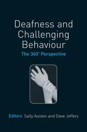 Cover of: Deafness and Challenging Behaviour