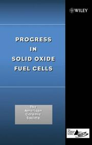 Cover of: Progress in Solid Oxide Fuel Cells | The American Ceramic Society (ACerS)