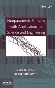 Cover of: Nonparametric statistics with applications to science and engineering |