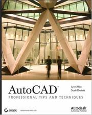 Cover of: AutoCAD | Lynn Allen