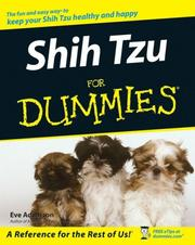 Cover of: Shih Tzu For Dummies