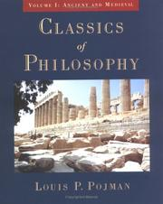 Cover of: Classics of Philosophy: Volume I: Ancient and Medieval (Classics of Philosophy)
