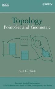 Topology: Point-Set and Geometric