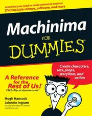 Cover of: Machinima For Dummies | Hugh Hancock