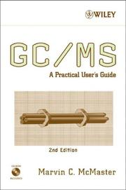 Cover of: GC/MS | Marvin McMaster