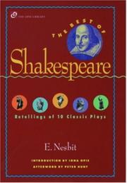 Cover of: Best of Shakespeare