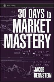 Cover of: 30 Days to Market Mastery