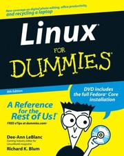 Cover of: Linux For Dummies 8th Edition | Dee-Ann LeBlanc