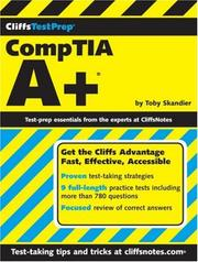 Cover of: CliffsTestPrep CompTIA A+ (Cliffs Testprep Guides) | Toby Skandier