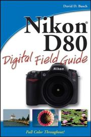 Cover of: Nikon D80 Digital Field Guide