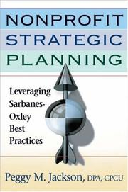 Cover of: Nonprofit Strategic Planning