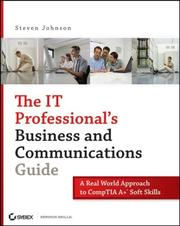 Cover of: The IT Professional's Business and Communications Guide