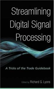 Cover of: Streamlining Digital Signal Processing