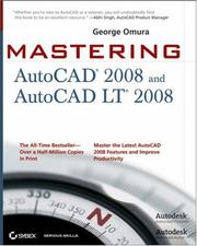 Cover of: Mastering AutoCAD 2008 and AutoCAD LT 2008 (Mastering)