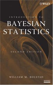 Cover of: Introduction to Bayesian Statistics