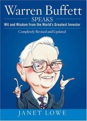 Cover of: Warren Buffett Speaks