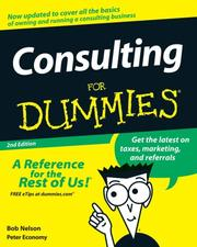 Cover of: Consulting for Dummies