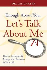 Cover of: Enough About You, Let's Talk About Me
