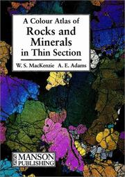 Cover of: A color atlas of rocks and minerals in thin section