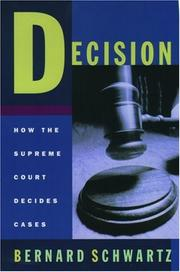 Cover of: Decision