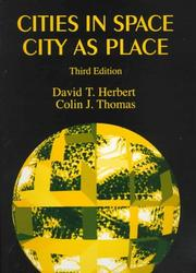 Cover of: Cities in space