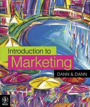 Cover of: Introduction to Marketing | Susan J. Dann