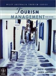 Cover of: Tourism Management (Wiley Australia Tourism) | David Weaver