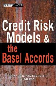 Cover of: Credit risk models and the Basel Accords