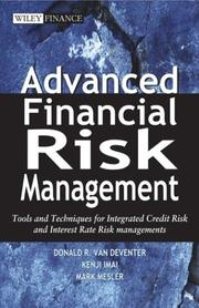 Cover of: Advanced financial risk management