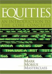 Cover of: Equities | Mark Mobius