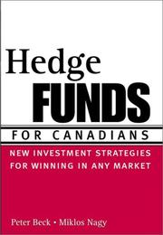 Cover of: Hedge funds for Canadians | Beck, Peter