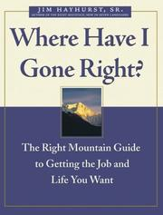 Cover of: Where have I gone right?
