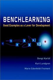 Cover of: Benchlearning | Bengt Karlöf