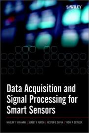 Cover of: Data Acquisition and Signal Processing for Smart Sensors | Nikolay V. Kirianaki