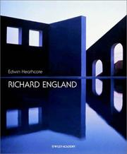 Cover of: Richard England (Architectural Monographs (Paper))