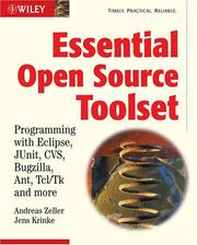 Cover of: Essential Open Source Toolset | Andreas Zeller