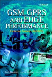 Cover of: GSM, GPRS and EDGE performance |
